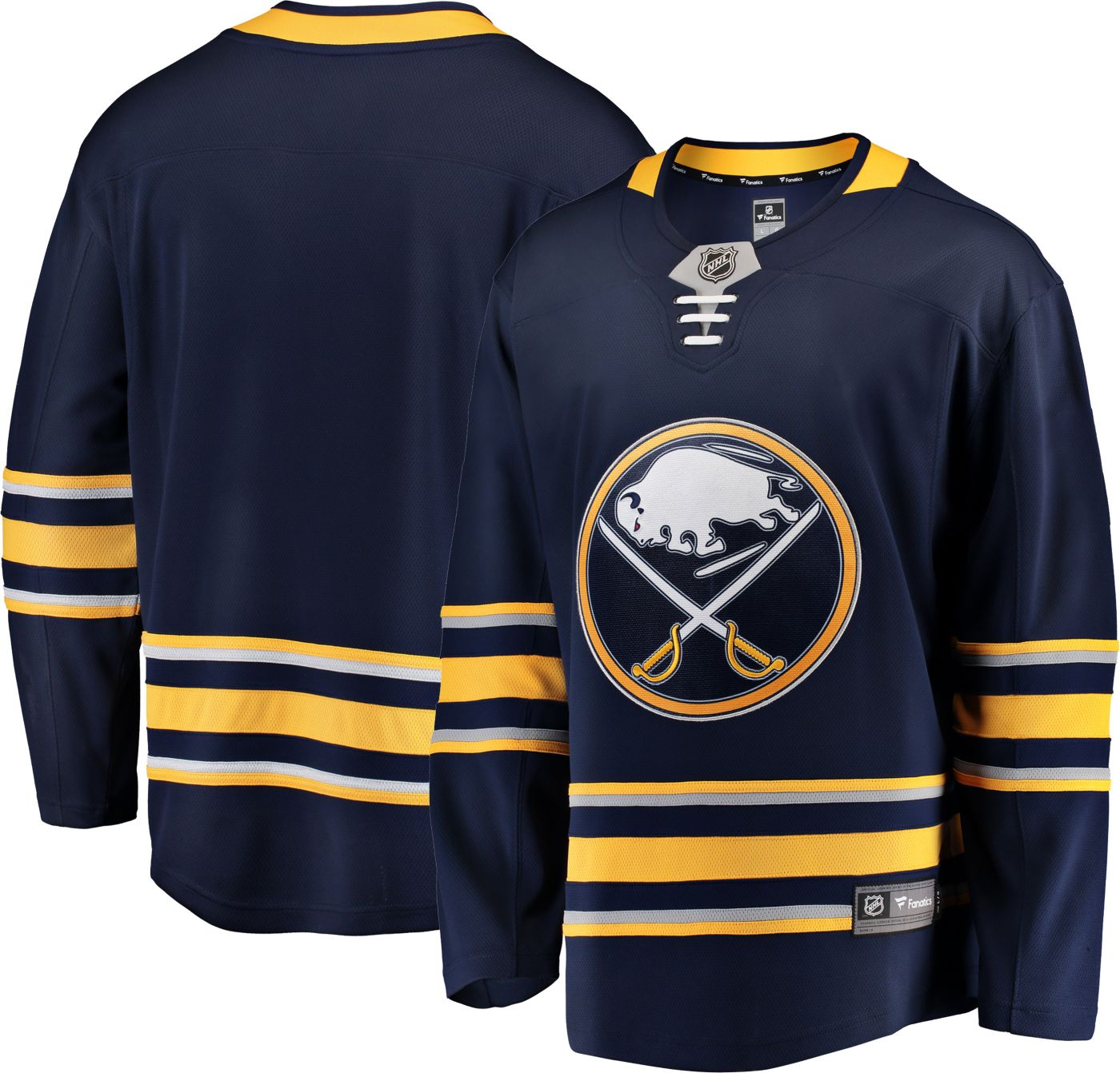 NHL Men's Buffalo Sabres Breakaway Home Replica Jersey