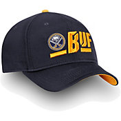 NHL Men's Buffalo Sabres Authentic Pro Rinkside Alpha Navy Adjustable Hat