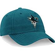 NHL Men's San Jose Sharks Core Blue Adjustable Hat