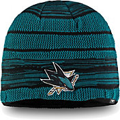 4ec7d05e6f5 Product Image · NHL Men s San Jose Sharks Iconic Knit Beanie