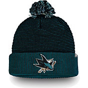NHL Men's San Jose Sharks Waffle Knit Beanie