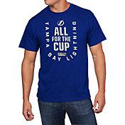 NHL Men's 2018 NHL Stanley Cup Playoffs Tampa Bay Lightning Blue T-Shirt