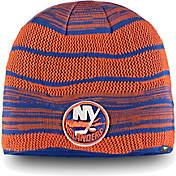 watch 31f43 4b508 NHL Mens New York Islanders Iconic Knit Beanie