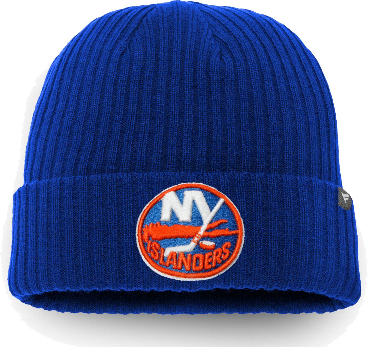 NHL Men's New York Islanders Core Knit Beanie