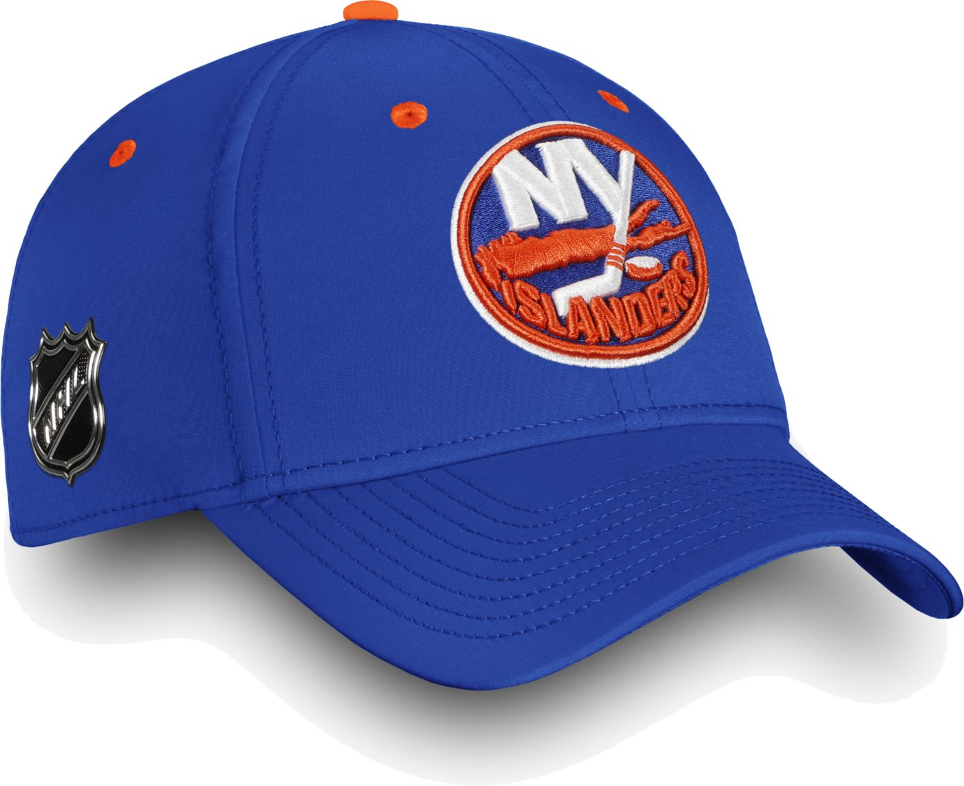 NHL Men's New York Islanders Authentic Pro Rinkside Speed Blue Flex Hat