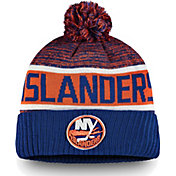 NHL Men's New York Islanders Authentic Pro Rinkside Goalie Blue Cuffed Knit Beanie