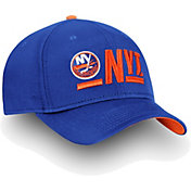 NHL Men's New York Islanders Authentic Pro Rinkside Alpha Blue Adjustable Hat