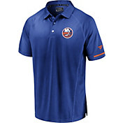 NHL Men's New York Islanders Authentic Pro Rinkside Blue Polo