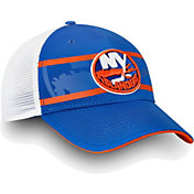 NHL Men's New York Islanders Authentic Pro Second Season Blue Trucker Adjustable Hat