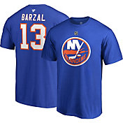 NHL Men's New York Islanders Matthew Barzal #13 Royal Player T-Shirt