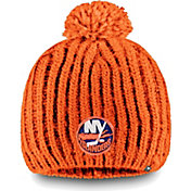 NHL Women's New York Islanders Iconic Knit Beanie