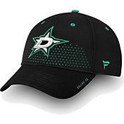 NHL Men's Dallas Stars 2018 NHL Draft Structured Black Flex Hat