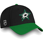 NHL Men's Dallas Stars Iconic Black Flex Hat