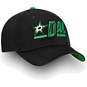 NHL Men's Dallas Stars Authentic Pro Rinkside Alpha Black Adjustable Hat