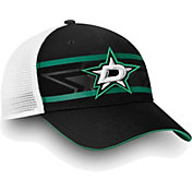 NHL Men's Dallas Stars Authentic Pro Second Season Black Trucker Adjustable Hat