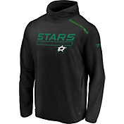 NHL Men's Dallas Stars Authentic Pro Transitional Green Pullover Hoodie