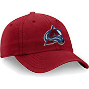 NHL Men's Colorado Avalanche Core Red Adjustable Hat