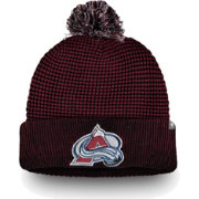 NHL Men's Colorado Avalanche Waffle Knit Beanie