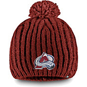 NHL Women's Colorado Avalanche Iconic Knit Beanie