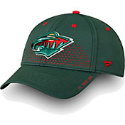 NHL Men's Minnesota Wild 2018 NHL Draft Structured Green Flex Hat