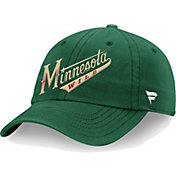 NHL Men's Minnesota Wild Core Green Adjustable Hat