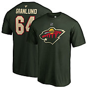 NHL Men's Minnesota Wild Mikael Granlund #64 Green Player T-Shirt