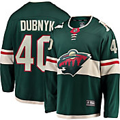 NHL Men's Minnesota Wild Devan Dubnyk #40 Breakaway Home Replica Jersey