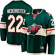 NHL Men's Minnesota Wild Nino Niederreiter #22 Breakaway Home Replica Jersey