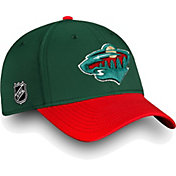 NHL Men's Minnesota Wild Iconic Green Flex Hat