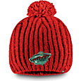 NHL Women's Minnesota Wild Iconic Knit Beanie