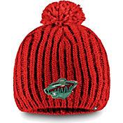 NHL Women's Minnesota Wild Iconic Knit Beanie