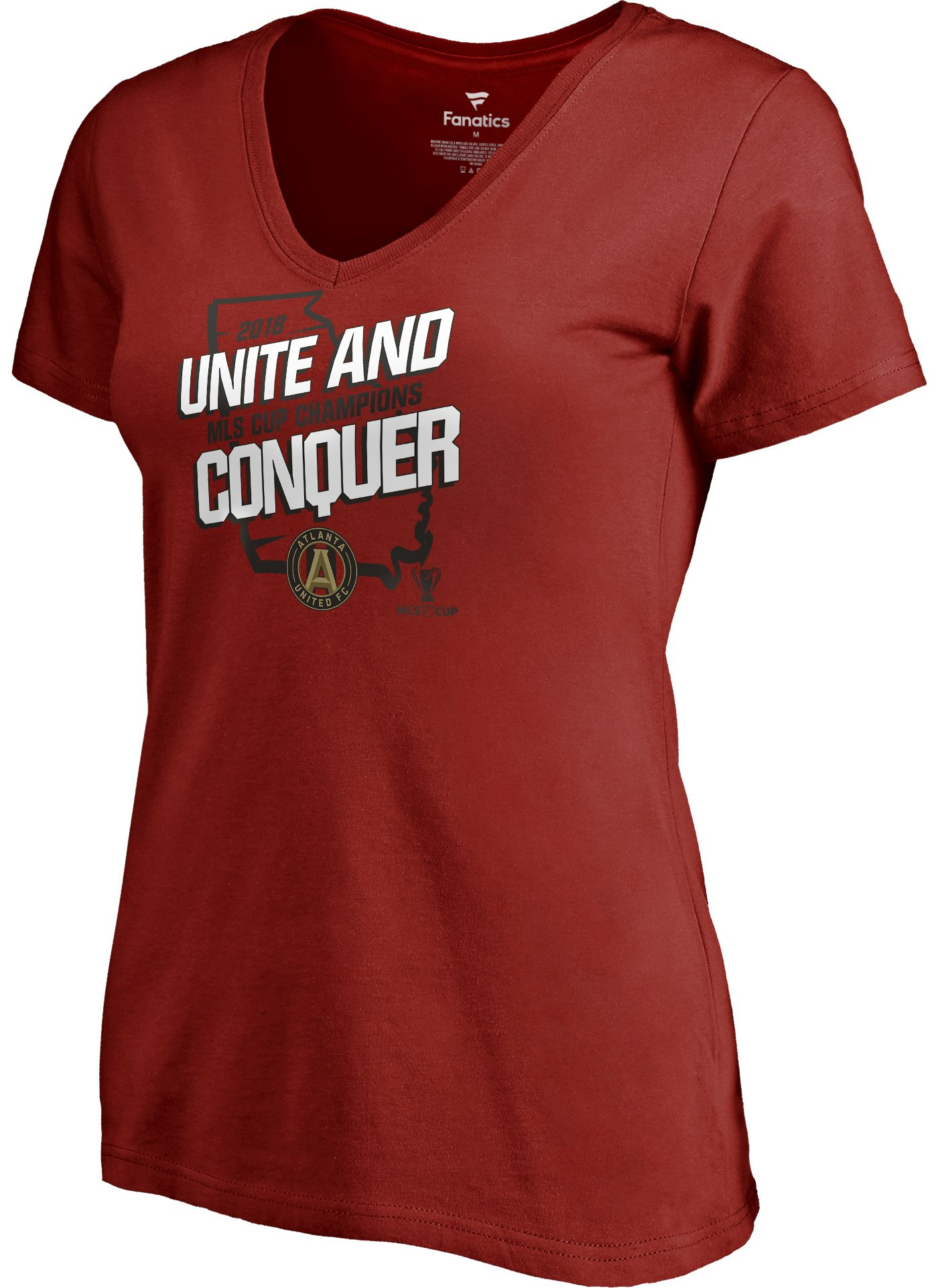 MLS Women's 2018 MLS Cup Champions Atlanta United Local V-Neck T-Shirt