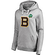 NHL Women's 2019 Winter Classic Boston Bruins Logo Heather Grey Sweatshirt