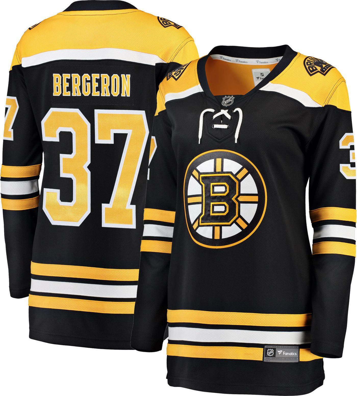 NHL Women's Boston Bruins Patrice Bergeron #37 Breakaway Home Replica Jersey