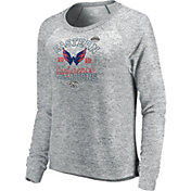 NHL Women's 2018 NHL Eastern Conference Champions Washington Capitals Big Time Play Long Sleeve Shirt
