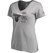 NHL Women's 2018 NHL Western Conference Champions Vegas Golden Knights Logo Locker Room V-Neck T-Shirt