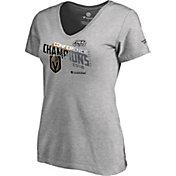 NHL Women's 2018 NHL Western Conference Champions Vegas Golden Knights Logo Locker Room V-Neck T-Shirt