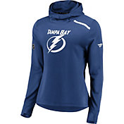 NHL Women's Tampa Bay Lightning Authentic Pro Royal Pullover Hoodie