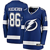 NHL Women's Tampa Bay Lightning Nikita Kucherov #86 Breakaway Home Replica Jersey