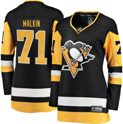 37a81422f NHL Women s Pittsburgh Penguins Evgeni Malkin  71 Breakaway Home ...