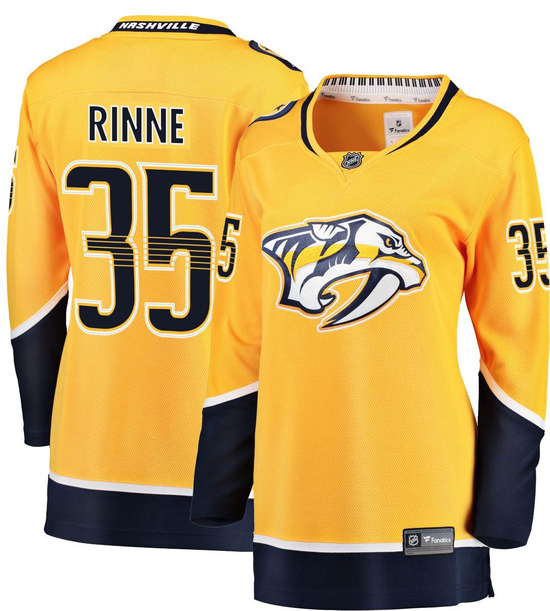 free shipping c5429 d35c6 NHL Women's Nashville Predators Pekka Rinne #35 Breakaway Home Replica  Jersey