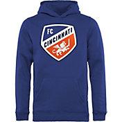 MLS Youth FC Cincinnati Shield Wordmark Blue Hoodie
