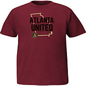 Majestic Youth Atlanta United Win Capital Red T-Shirt