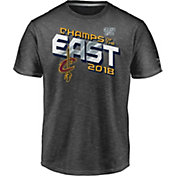 NBA Youth 2018 Eastern Conference Champions Cleveland Cavaliers Grey Locker Room T-Shirt