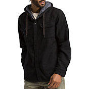 prAna Men's Bolster Hooded Flannel