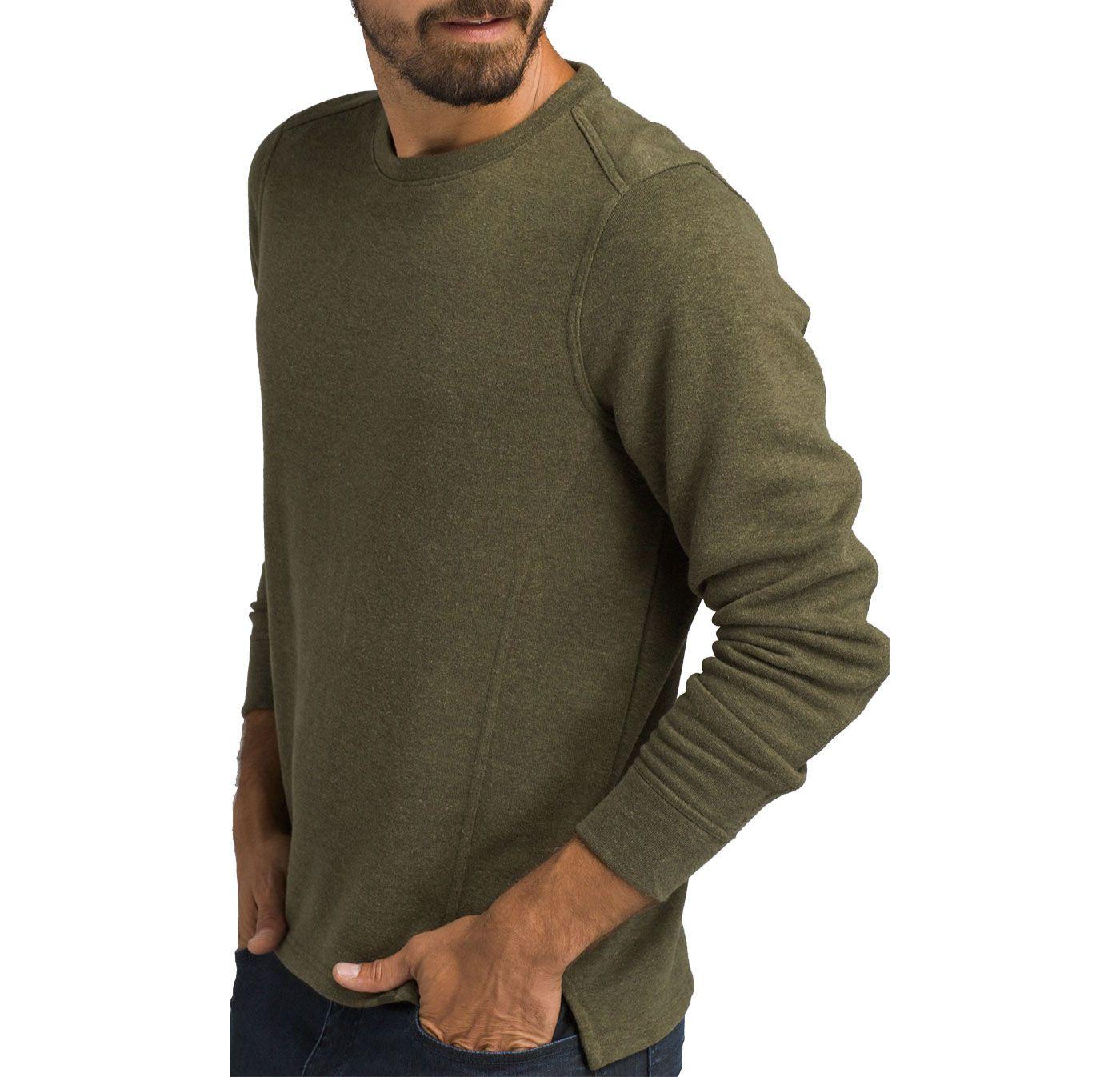 prAna Men's Norcross Crew Long Sleeve Shirt