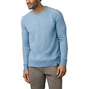 prAna Men's Asbury Crew Long Sleeve Shirt