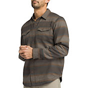 prAna Men's Asylum Flannel Long Sleeve Shirt