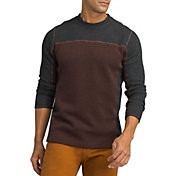 prAna Men's Wentworth Crew Long Sleeve Shirt