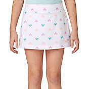Prince Girls' Printed Match Knit Skort
